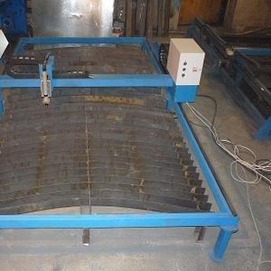 Портальный станок плазменной резки металла с ЧПУ в Павлодаре
