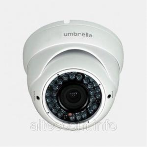 АНТИвандальная купольная камера-F227