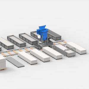 Оборудование для производства газобетона АСМ-10С