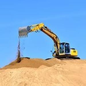 Продажа и доставка строительного песка..