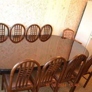 стол из дуба