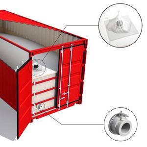 Вкладыш в контейнер для перевозки сыпучих грузов в Павлодаре