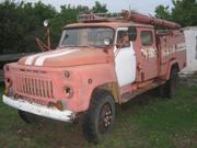 Пожарная машина на базе а/м ГАЗ-53 А